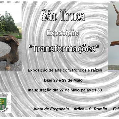 Cartaz exposicao aroes
